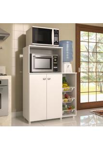 Armário De Cozinha 2 Portas Com Fruteira 2531.010 Branco - Multimóveis