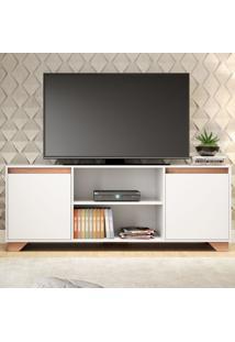 Rack Para Tv Até 40 Polegadas Benevello 2 Portas 2030 Branco - Quiditá Móveis