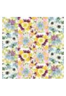 Papel De Parede Autocolante Rolo 0,58 X 3M - Azulejo Flora L228609727