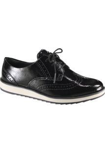 ea6f7b475 Mundo das Botas. Sapato Feminino Oxford Dakota