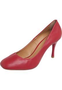 Scarpin Dafiti Shoes Fosco Vermelho