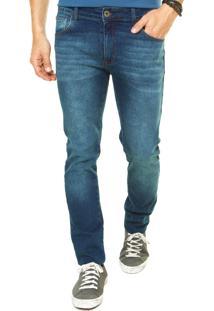 Calça Jeans Coca-Cola Jeans Reta Azul