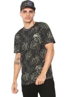 Camiseta ...Lost Coral Camo Verde