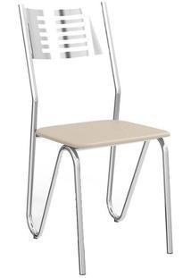 Cadeira Crome Nápoles Nude 0