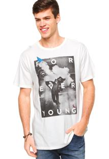 Camiseta Reserva Forever Young Off-White