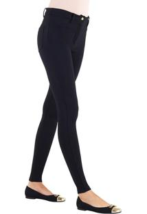 Calça Skinny Loba Lupo (41860-001), Marrom, P