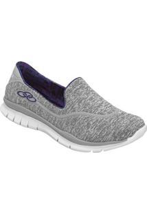 316198002 Tênis Casual Cinza feminino | Shoelover