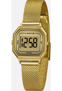 Relógio Feminino Digital Lince Sdph128L Cxkx