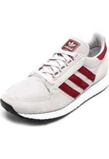 Tênis Adidas Originals Oregon Off White/Vermelho
