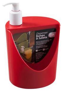 Porta Sabonete Líquido Rj 600Ml Pimenta Coza