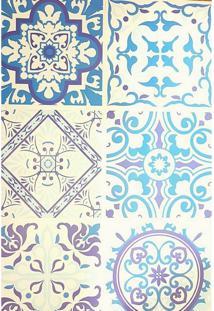 Papel De Parede Lavavel Cozinha Azulejo Português Hidráulico - Tricae