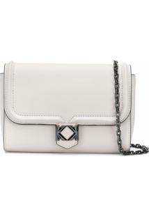 Karl Lagerfeld Miss K Pochette On Chain - Neutro