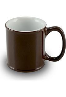 Caneca Mini Cilindrica 70Ml 1648-Mondoceram Gourmet - Chocolate