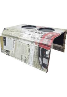 Bandeja Sture Móveis Para Braço De Sofá Com Porta Controle - Kanui