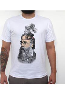 Cabeça De Fumaça - Camiseta Clássica Masculina