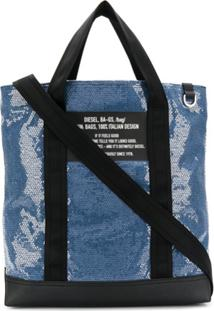 Diesel Bolsa Tote F-Thisbag Showay - Azul