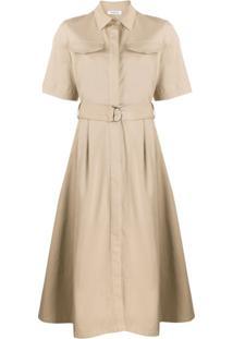 P.A.R.O.S.H. Shirt Day Dress - Neutro