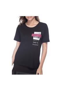 Camiseta Guess Bolso Glitter