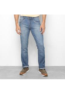 Calça Jeans Slim Biotipo Masculina - Masculino-Azul