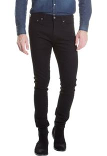 Calça Jeans Levi'S 510 Skinny Masculina - Masculino-Preto