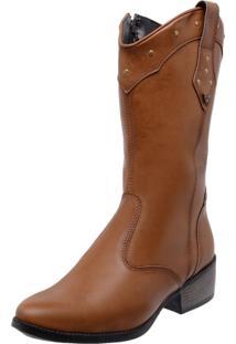 Bota Country Mega Boots 1324 Caramelo