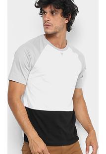 Camiseta Cavalera Com Recortes Masculina - Masculino