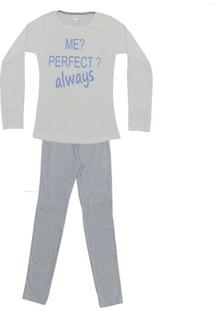 Pijama Feminino De Inverno Estampas Sortidas