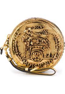 Moschino Bolsa Ronde - Dourado
