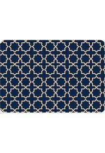 Tapete Love Decor De Sala Wevans Abstract Azul Marinho