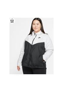 Plus Size - Jaqueta Nike Sportswear Windrunner Feminina