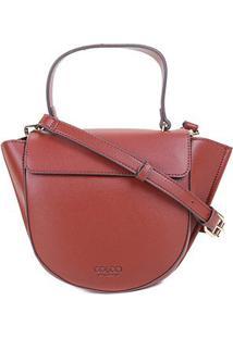 Bolsa Colcci Handbag Meia Lua Feminina - Feminino-Vermelho