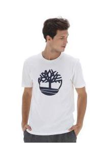 Camiseta Timberland Ss Kennebec Rvr - Masculina - Bege