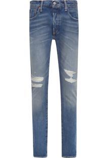 Calça Masculina 501 Skinny - Azul Claro