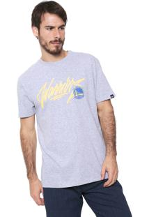 Camiseta New Era Golden State Warriors Bordô