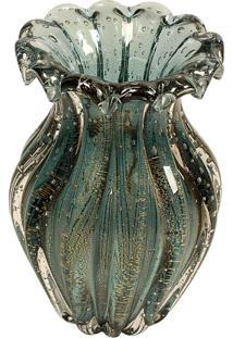 Vaso Decorativo De Murano Pésaro