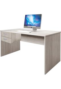 Mesa 2 Gavetas Home Office Livorno Madeirado Bonatto