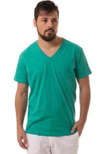 Camiseta Osmoze Gola V - Masculino-Verde