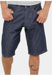 Bermuda Jeans Fatal Indigo Slim Masculina - Masculino