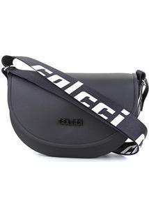 Bolsa Colcci Mini Bag Dubai Feminina - Feminino-Preto