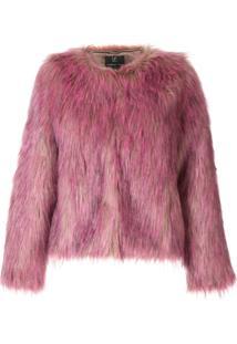 Unreal Fur Jaqueta Unreal Dream Com Pele Sintética - Roxo