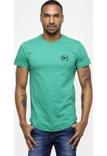 Camiseta Rg 518 Gola Careca Swag Bordado Básica - Masculino