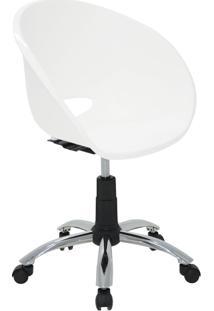 Cadeira Elena Em Polipropileno E Aço Branco Tramontina