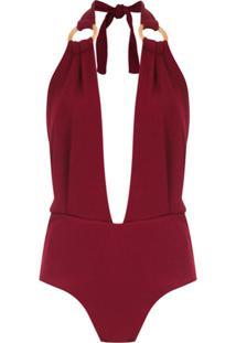 Framed Body 'Malibu' Argola - Vermelho