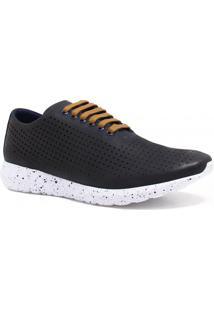 Tênis Zariff Shoes Casual Couro