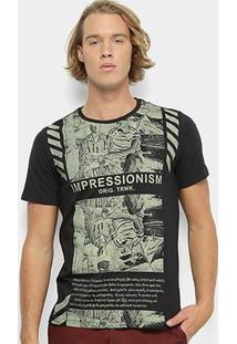 Camiseta All Free Masculina - Masculino-Preto
