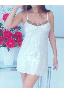 Camisola Em Chiffon Com Seda Sintética Dressy (E11179)