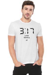 Camiseta Ellus 2Nd Floor Estampada Branca