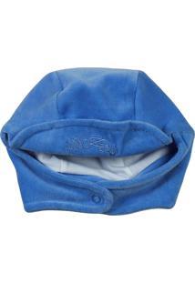Enxoval Baby Ano Zero Touca Plush Azul