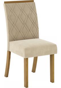 Cadeiras Para Cozinha Vita Nature/Linho - Henn