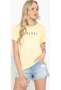 "Camiseta ""Loving Yourself""- Amarela & Preta- Colccicolcci"
